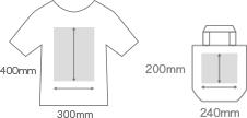 Tシャツ・バッグデザインイメージ